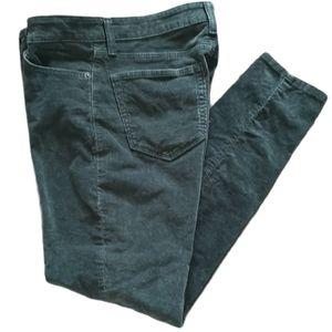 Lucky Brand Corduroy Ava Skinny Jean Pant Stretch